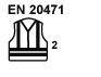 EN 20471, Klasse 2